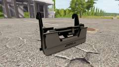 The adapter for front loader