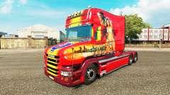 Beau skin for truck Scania T for Euro Truck Simulator 2