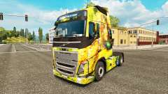 Flower Girl skin for Volvo truck