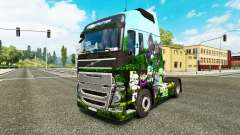 Minecraft skin for Volvo truck