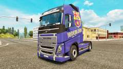 Barcelona skin for Volvo truck