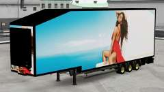 Refrigerated semi-trailer Krone