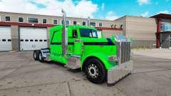 Emerald Dream skin for the truck Peterbilt 389