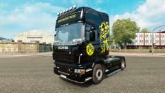 Borussia Dortmund skin for Scania truck