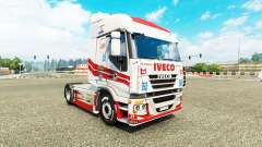 Skin Luis Lopez on the truck Iveco