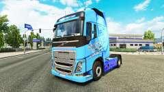 Skin Paul Walker R. I. P. to Volvo trucks