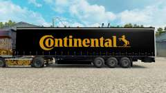 Skin Contiential on the trailer for Euro Truck Simulator 2