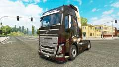 Angel skin for Volvo truck