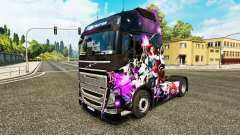Skin League of Legends on a Volvo truck