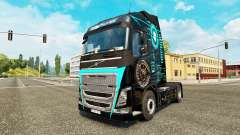 Skin Hi-Tech at Volvo trucks