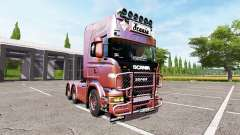Scania R730 old school v1.1 for Farming Simulator 2017