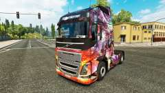 Princess Dragon skin for Volvo truck