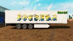 Skin Minions on the trailer