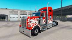 Inferno skin for the Kenworth W900 tractor