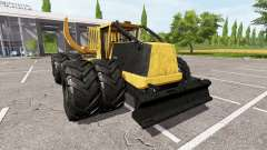 Tigercat 635E clambunk for Farming Simulator 2017