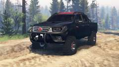 Toyota Hilux Double Cab 2016 v2.0 for Spin Tires