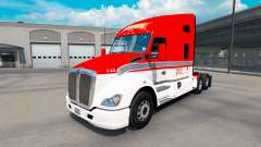 Skin Lexan Transport on tractor Kenworth T680