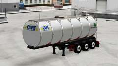 Food tank semi-trailer Menci