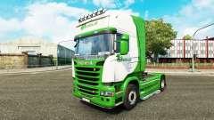 Skin Beelen.nl for tractor Scania