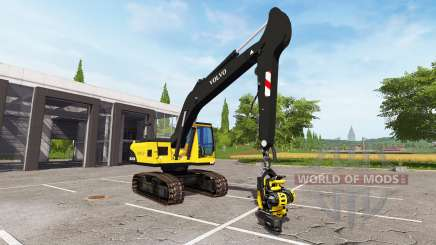 Volvo EC210B forest for Farming Simulator 2017