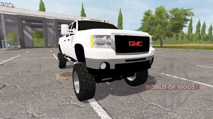 GMC Sierra 2500 2012 for Farming Simulator 2017
