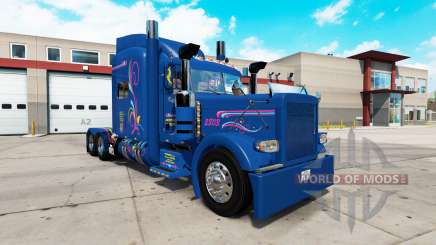 Skin Excellence for the truck Peterbilt 389 for American Truck Simulator