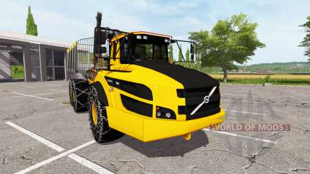 Volvo A40G forwarder for Farming Simulator 2017