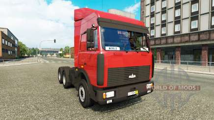MAZ-5432 v5.0.1 for Euro Truck Simulator 2