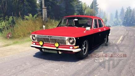 GAZ-24 Volga in a Major for Spin Tires