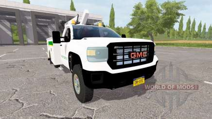 GMC Sierra 3500HD service for Farming Simulator 2017