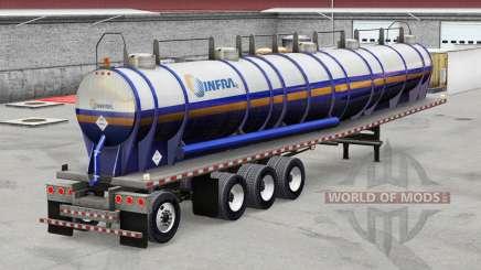 Skin Infra on the trailer for American Truck Simulator