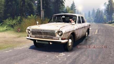 GAZ-24 Volga star for Spin Tires