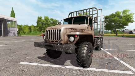 Ural-4320 truck v2.0 for Farming Simulator 2017