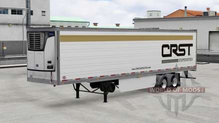 Real company logos for trailers v2.0.1 for American Truck Simulator