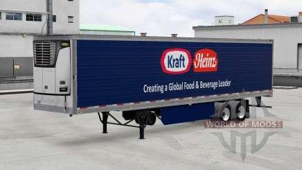 Skins for trailers v1.3 for American Truck Simulator