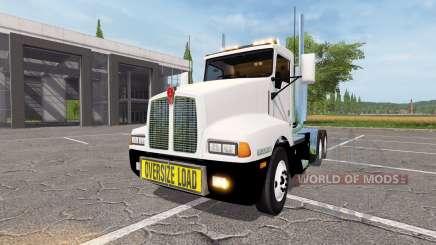 Kenworth T600 oversize load v2.0 for Farming Simulator 2017