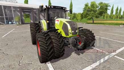 CLAAS Axion 830 v1.2 for Farming Simulator 2017
