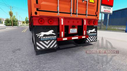 Updated mud flaps of semi-trailers for American Truck Simulator