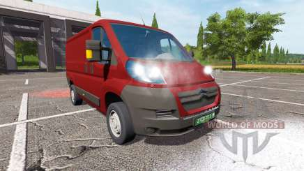 Citroen Jumper (250) for Farming Simulator 2017