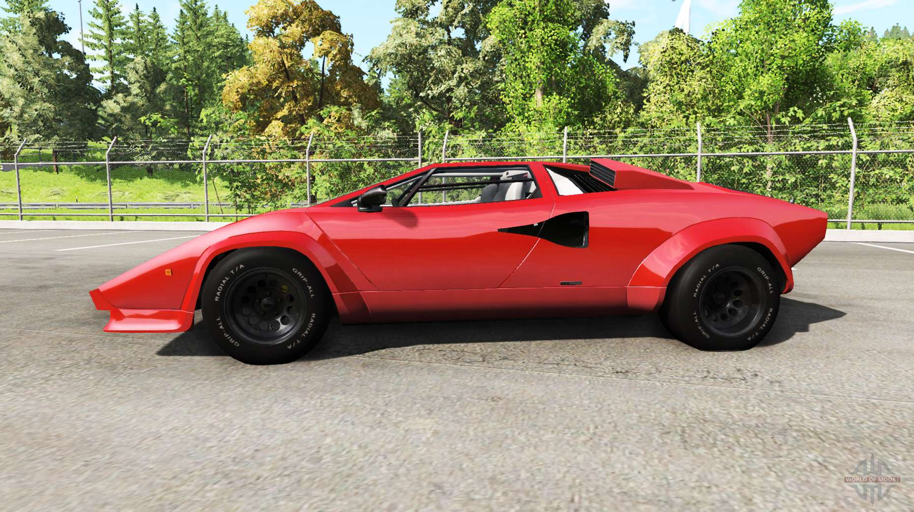 Lamborghini Countach V2 0 For Beamng Drive