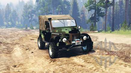 GAZ 69 Expedition for Spin Tires