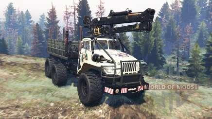 Ural 4320 Polar Explorer v20.0 for Spin Tires