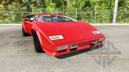 Lamborghini Countach v2.0 for BeamNG Drive