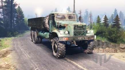 KrAZ 257 v3.0 for Spin Tires