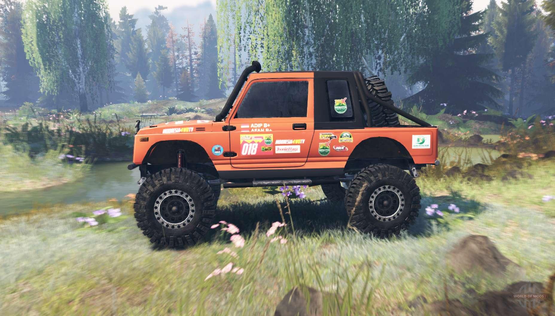 Suzuki Samurai Expedition 2017 For Spin Tires