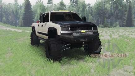 Chevrolet Silverado 2003 for Spin Tires