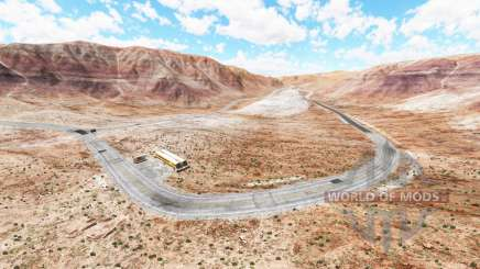 Crimson valley for BeamNG Drive