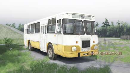 LiAZ 677 for Spin Tires