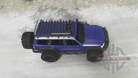 Nissan Patrol GU (Y61) 2004 for Spintires MudRunner