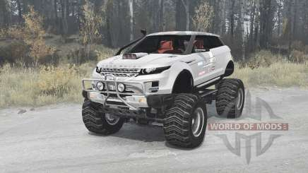 Land Rover Range Rover LRX 2008 for MudRunner